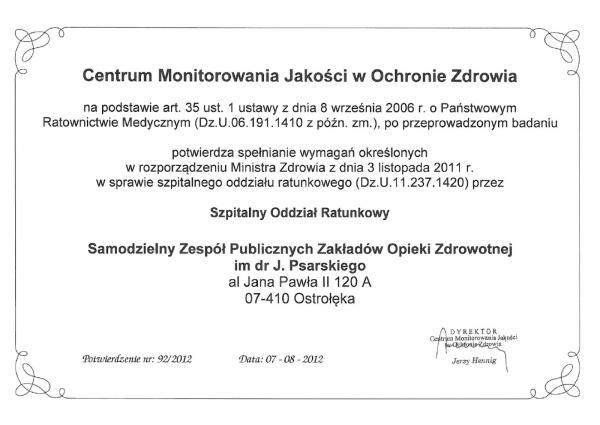 Certyfikat - 3